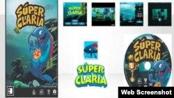 Súper Claria, ejemplo de videojuego cubano desarrollado por la UCI.