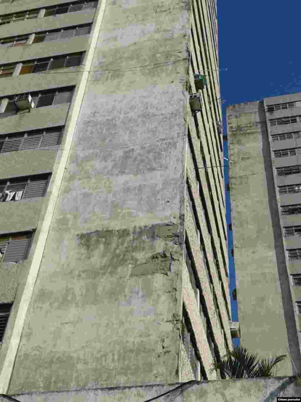 Esquina de Tejas en deplorable estado Foto Steve Maikel Pardo