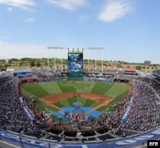 Estadio Kauffman de Kansas City, Misuri