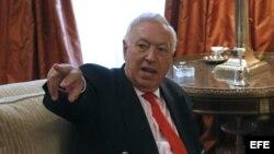 Foto de archivo del ministro español de Asuntos Exteriores, José Manuel García-Margallo.