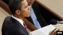 Barack Obama se dirige al Congreso