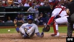 Entre las estrellas cubanas que hoy juegan en Grandes Ligas, el periódico cita a Yasiel Puig, de los Dodgers.