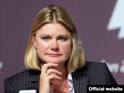 Justine Greening, secretaria británica para el Desarrollo Internacional.
