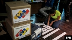 Jornada de comicios municipales venezolanos