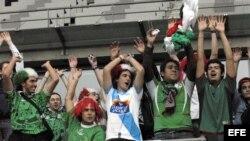 Seguidores de la selección mexicana de fútbol.