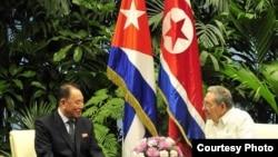 Los gobiernos de Cuba y Corea del Norte han sido aliados por décadas.