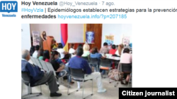 Venezuela tomado de @Hoy_Venezuela