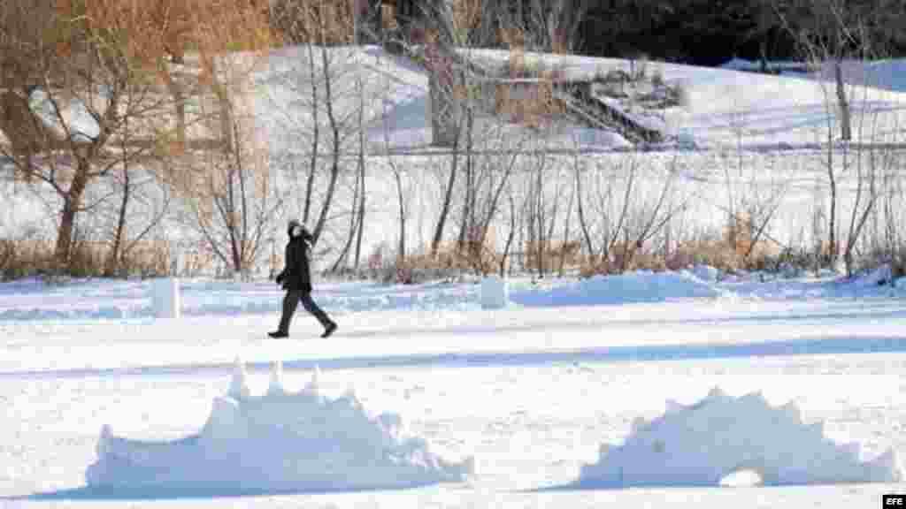 EEUU registra las temperaturas más bajas delos últimos 20 años