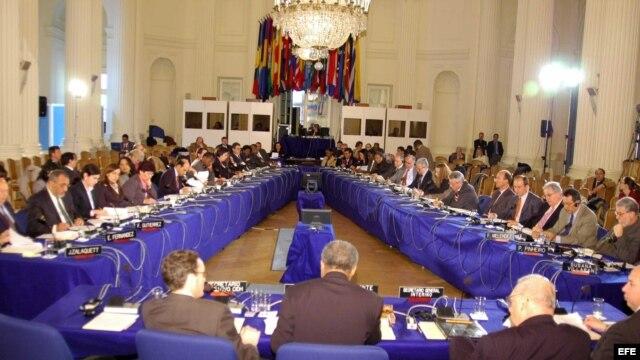 Fotografía de archivo de la Comisión Interamericana de Derechos Humanos.