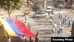 Marcha por los caidos en Venezuela