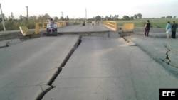 Daños provocados por un sismo en México. Foto de archivo.