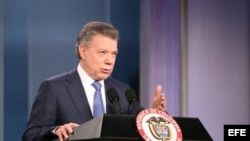 Presidente de Colombia, Juan Manuel Santos,