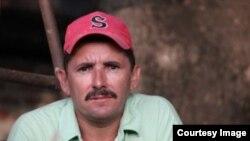 Eliecer Palma Pupo, opositor residente en San Germán, provincia Holguín.