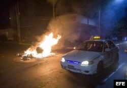 Disturbios continuaban este sábado en las calles de Nicaragua