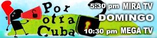 Promo - Banner - Por Otra Cuba - 308 x 75 px - 72 dpi
