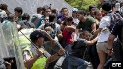Manifestación en Caracas y San Diego, Venezuela