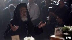 Los cristianos coptos, que representan alrededor del 10 por ciento de la población de Egipto que alcanza los 92 millones.
