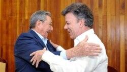 Canciller cubano difiere de declaraciones de Santos