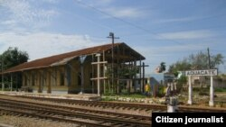 Reporta Cuba. Estación de trenes. Foto: Jotache Feria.