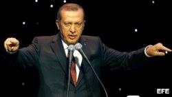Primer ministro turco Recep Tayyip Erdogan.