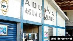 Aduana de Agua Caliente, Honduras.