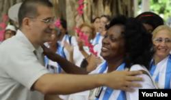 Reporta Cuba Rodiles Damas de Blanco