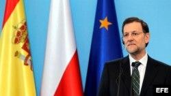 Mariano Rajoy presidente del gobierno español