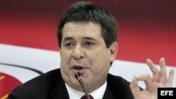 El presidente paraguayo electo, Horacio Cartes, en foto de archivo
