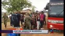 Trasladan a Costa Rica a migrantes cubanos en Panamá; temen deportación