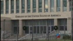 EEUU reduce en un 60% su personal diplomático en La Habana