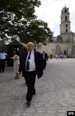 El secretario general de la Organización de Estados Americanos (OEA), José Miguel Insulza, visitó La Habana en enero de 2014, en el marco de la II Cumbre de la Comunidad de Estados Latinoamericanos y Caribeños (Celac).