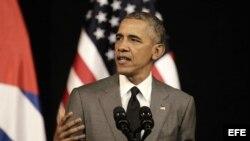 Cubanos reaccionan al discurso de Obama