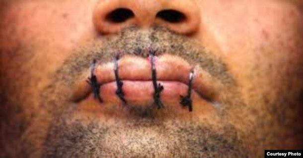Coserse los labios es una de las formas menos dañinas de las autoagresiones a que se someten los presos cubanos (Cubanet).