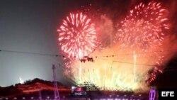 Juegos invernales de PyeongChang.