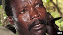 Fotografía de archivo del líder del Ejército de Resistencia del Señor Joseph Kony.