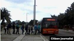 Transporte Reporta Cuba Foto Rosario Morales