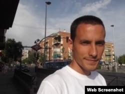El activista del Movimiento Cristiano Liberación Erik Alvarez