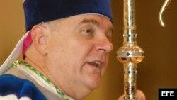 El Arzobispo de Miami, Thomas Wenski oficiará una misa en la capital cubana el 27 de marzo