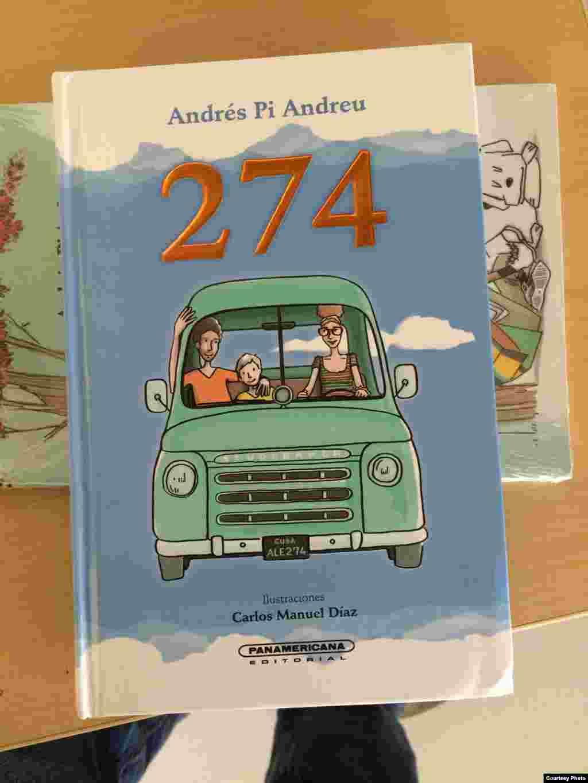 """Cubierta de la novela """"274"""", en la edición de Panamericana."""