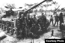 Tropas cubanas en Angola
