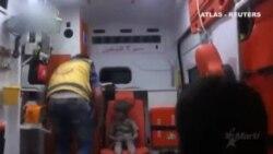 La imagen de un niño de cinco años herido en una ambulancia, nuevo icono de la guerra