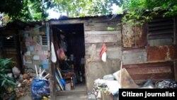 Reporta Cuba. Anciano en Guanabacoa. Foto: Juan C. Díaz.