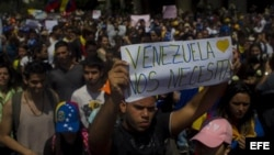 Juventud venezolana seguirá en las calles realizando demandas