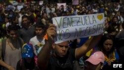 Solidaridad con opositores venezolanos