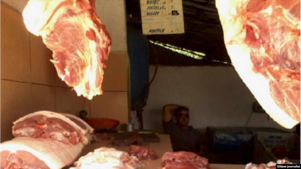 Reporta Cuba carne de cerdo Foto Aimara Peña