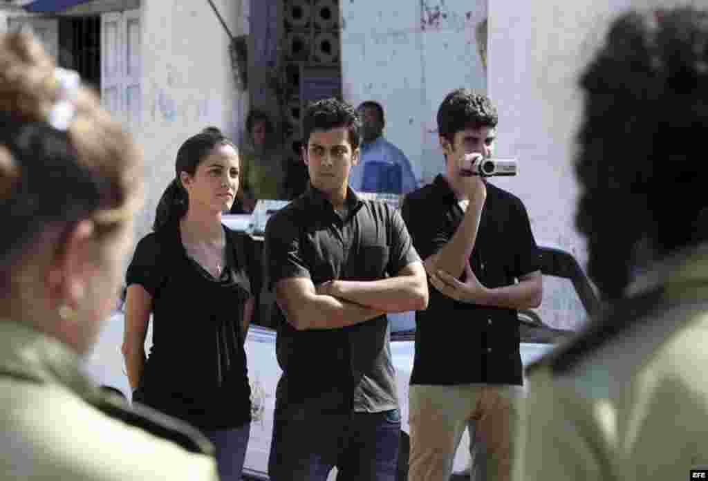 A los hijos de Oswaldo Payá, se les impidió entrar al tribunal en Bayamo donde se realizó el juicio a Angel Carromero el 5 de octubre