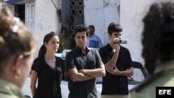 A los hijos del fallecido Oswaldo Payá, se les impidió entrar al tribunal donde se realizó el juicio a Angel Carromero.