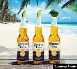 Comercial de la cerveza mexicana Corona, la cerveza de importación que más se vende hoy en EE.UU.