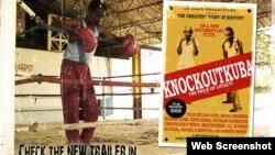 Poster del documental KnockoutKuba.