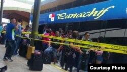 Cubanos saliendo hacia México desde Panamá/Cortesía de La Estrella de Panamá